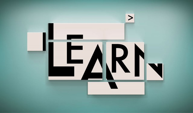 Learning with technology is a process of putting together content and technology resources
