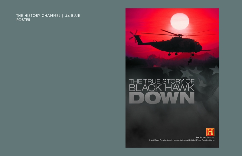 The True Story of Blackhawk Down on the History Channel Poster